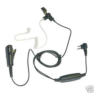 2 Wire Surveillance Mic for Motorola CP200/P110/GP300