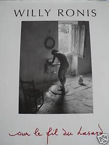 Willy RONIS - SUR LE FIL DU HASARD - Fontenay le Fleury, France métropolitaine - État : Neuf: Livre neuf, n'ayant jamais été lu ni utilisé, en parfait état, sans pages manquantes ni endommagées. Consulter l'annonce du vendeur pour avoir plus de détails. ... Auteur: Willy RONIS Année - Fontenay le Fleury, France métropolitaine