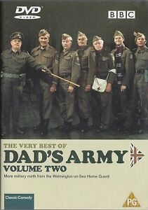 VERY-BEST-OF-DADS-ARMY-Volume-2-Arthur-Lowe-John-Le-Mesurier-BBC-DVD-2002