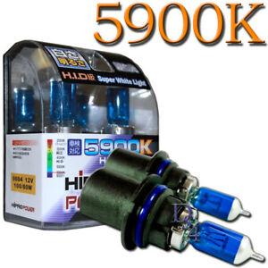 9004 HID XENON HALOGEN LIGHT BULBS LOW/HIGH - 5900K