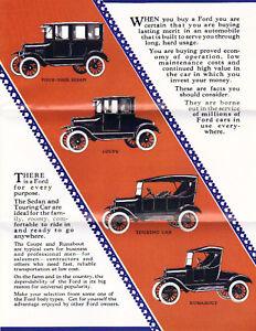 1923 Ford Model T Sales Brochure