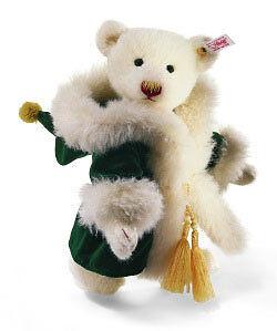 Steiff-White-Christmas-Bear-w-Music-Box-NIB-EAN-037504