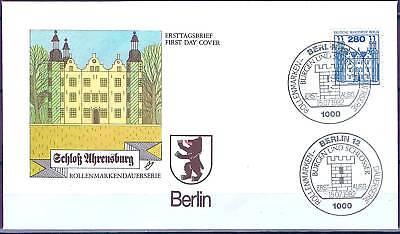 Berlin 1982: Schloß Ahrensburg! FDC der Nr. 676 mit Ersttagssonderstempeln! 1601