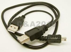 "USB 5pin Cable Cord For 2.5"" Mobile Hard Disk Drive HDD"