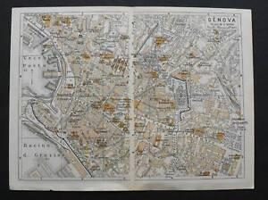 Antica-Stampa-Topografica-GENOVA-Scala1-10000-1909c