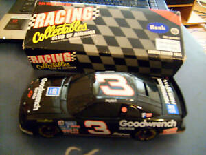 1995 ACTION RCCA DALE EARNHARDT #3 GOODWRENCH 1:24 BLACK WINDOW BANK