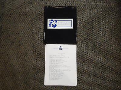 1993 Chemical Bank Millrose Games Track Press Kit