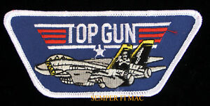 US-NAVY-TOP-GUN-TOPGUN-PATCH-BADGE-F-14-TOPGUN-MAVERICK-ICEMAN-USS-NAS-NAF-WOW