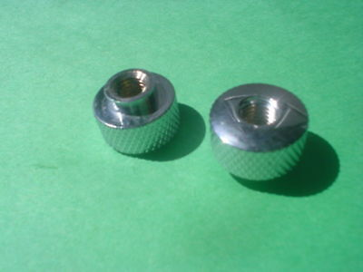 1951 Jaguar 4.2 S.1 XKE Knurled Radio Panel Nuts