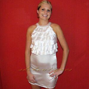 NEW-REPUBLIC-MISO-WHITE-RUFFLE-SATIN-DRESS-8-10-12-14