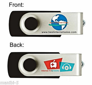 INTERNET TV & RADIO USB DONGLE - WATCH FREE TV ANYWHERE