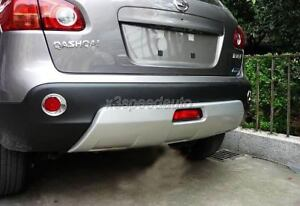 Front-Rear-Bumper-Protector-Skid-FOr-07-09-Nissan-Qashqai-Dualis