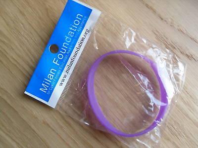 YOUTH Milan Foundation Cystic Fibrosis AWARENESS purple