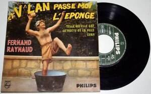 EP-45-tours-Fernand-RAYNAUD-Et-V-039-lan-Passe-Moi-l-039-eponge