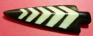 3-piece-Bone-Horn-Pendant-ARROWHEAD-Carved-2-1-4-inch-903