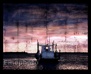 BIG-Surreal-NAUTICAL-Boat-Art-Photograph-Florida-WRIGHT