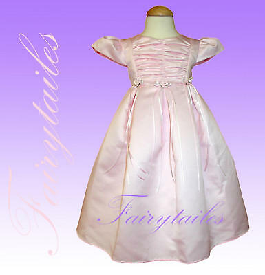 Pink Girl Easter Wedding Party Dress Size 18 Months