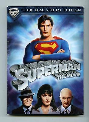 Superman: The Movie (dvd) Four Disc Special Edition Brand