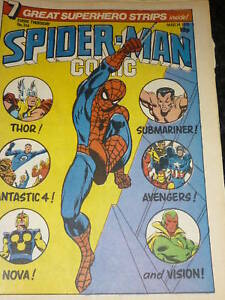 SPIDER-MAN-Comic-No-314-14-03-1979-UK-Comic