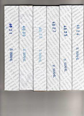 6 DOUBLE PACKS -BLACK SHOWGARD MOUNTS-BIG SAVINGS -LOT 4122