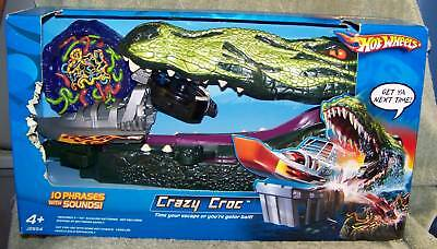 Hot Wheels 2005 Crazy Croc Playset With Sounds