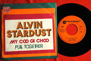 ALVIN-STARDUST-MY-COO-CA-CHOO-UNIQUE-EXYU-7-PS-N-MINT