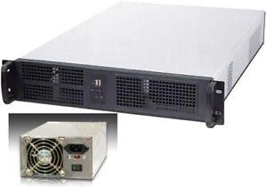 2U-600W-EPS12V-PSU-Rackmount-Riser-7slot-2x5-25-9xHDDs-Bay-eATX-Case-NEW