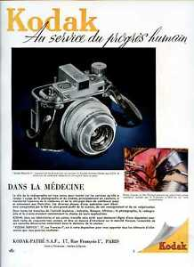 1950-Publicite-Photographie-Appareil-KODAK-Medalist-II