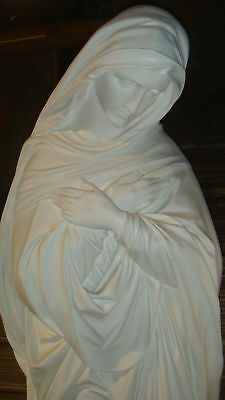 70 Quot Sorrowful Mother Outdoor Blessed Virgin Mary Statue Ebay