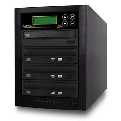 Copystar Cd Dvd Duplicator 1-3 Sony/lg 24x Burner Expanda...