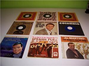 LOT-OF-9-45-RPM-RECORDS-SOME-WITH-PICTURE-SLEEVES