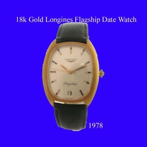 Mint-18k-Gold-Gents-Retro-Longines-Gents-Wrist-Watch-1974