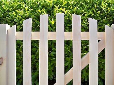 3' x 3' (900mm x 900mm) - Arched Top Planed Smooth Wooden Garden Pedestrian Gate