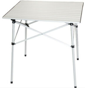 OZTRAIL SLAT Folding Picnic Portable Roll Up Table
