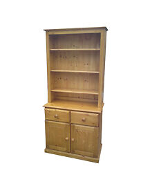 Welsh-Dresser-with-Bookcase-Canopy-in-Solid-Pine