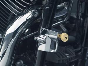 KURYAKYN-MOTORCYCLE-HELMET-LOCK-4-HARLEY-CHROME-4220