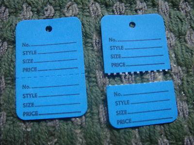 300 Clothing Price Tagging Tag Gun Paper Hang Label Blue