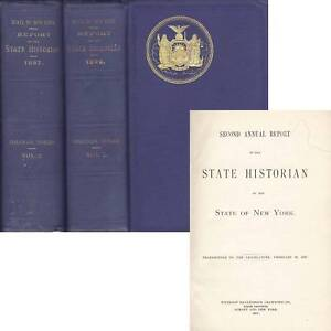 Two-Volume-New-York-State-Report-Rare-Book