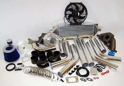 Ka24 240sx Ka24de 89 98 Cast T3T4 Turbo Kit Package all new  Most Power HP