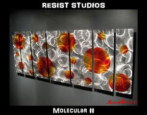 MODERN-ABSTRACT-METAL-PAINTING-WALL-ART-SCULPTURE-CONTEMPORARY-DECOR-68