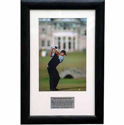 Tiger Woods - The Open - Special edition presentation