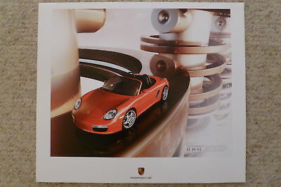 2009 Porsche Boxster Showroom Advertising Sales Poster RARE!! Awesome L@@K