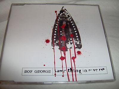 Boy George Same Thing In Reverse 4 Mixes Mint Uk Cd