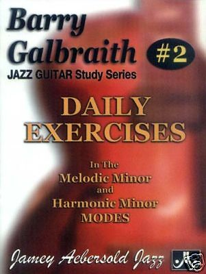 Barry Galbraith #2 Daily Exercises in Minor Modes