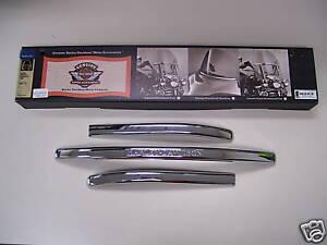 Harley Davidson Engraved Windshield Trim Parts