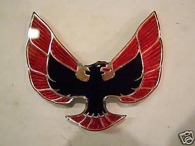 NOS Pontiac Firebird Hood Emblem Ornament 1974 1975 1976 ? GM