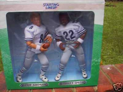 Troy Aikman/emmitt Smith 12 Starting Lineup Figures