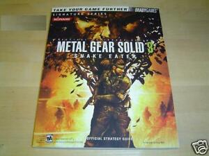 METAL-GEAR-SOLID-3-GUIDE-BRADYGAMES-BRAND-NEW