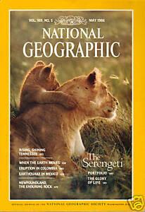 National-Geographic-May-1986-Serengeti-Tennessee