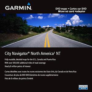 Garmin Canada Map Sd Card Garmin City Navigator North America USA,Mexico & Canada Map SD